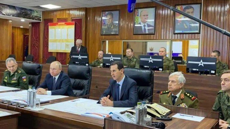بوتين الاسد